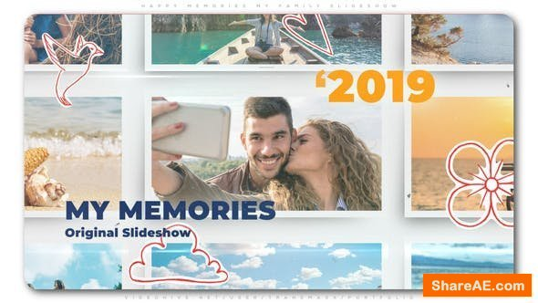 Videohive Happy Memories My Family Slideshow