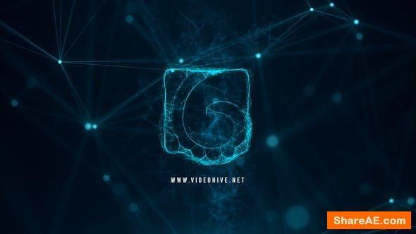 Videohive Plexus Logo Reveal 24605615