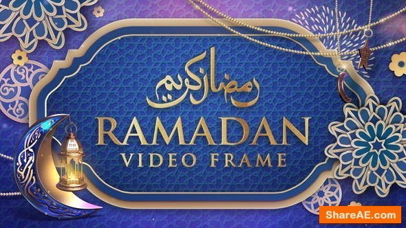 Videohive Ramadan Video Frame