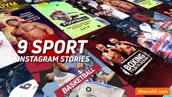 Videohive Sport Instagram Stories Pack