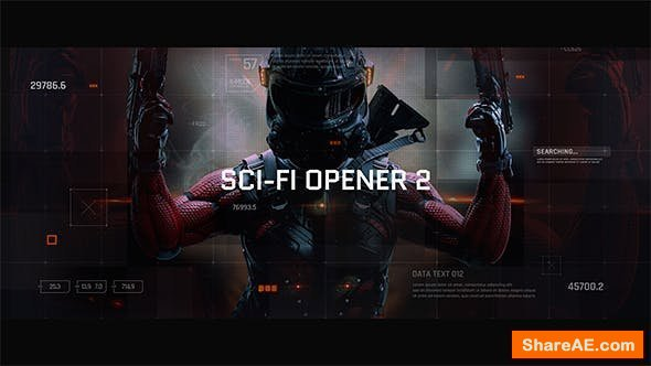 Videohive Sci-Fi Opener / Hi-Tech Slideshow / Futuristic Film Credits / HUD Elements / Space Science 21218914