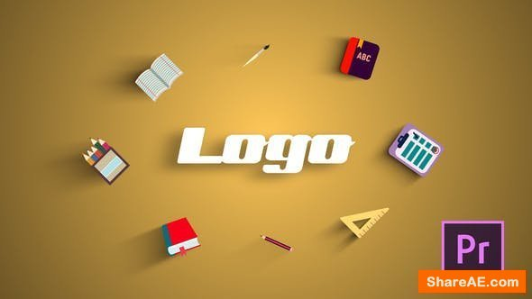 Videohive School Logo Reveal - Premiere Pro