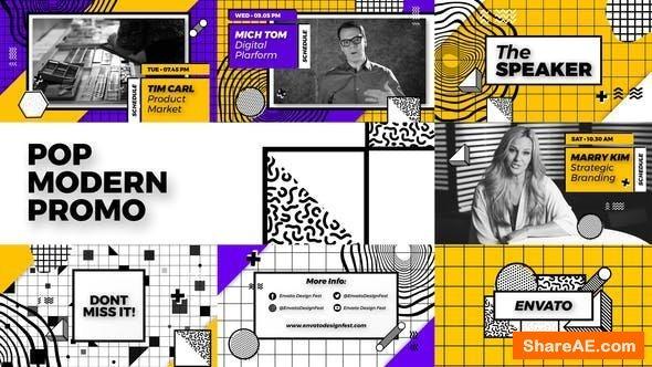 Videohive Pop Modern Promo