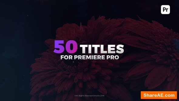 Videohive Modern Titles 21892609 - Premiere Pro