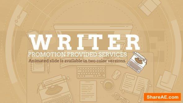 Videohive Writer Promo