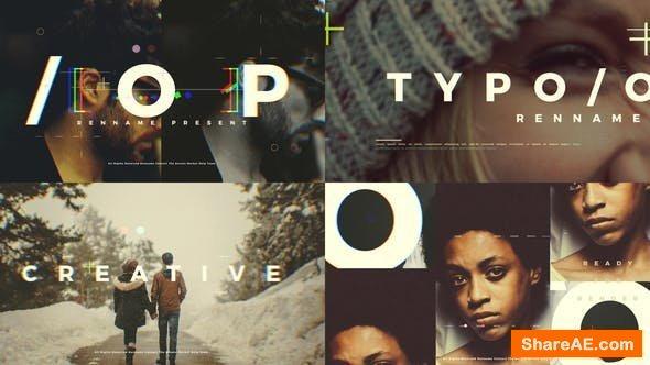 Videohive Typo Opener 23256518