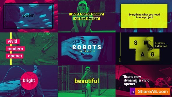 Videohive Robots in Paris (Opener)