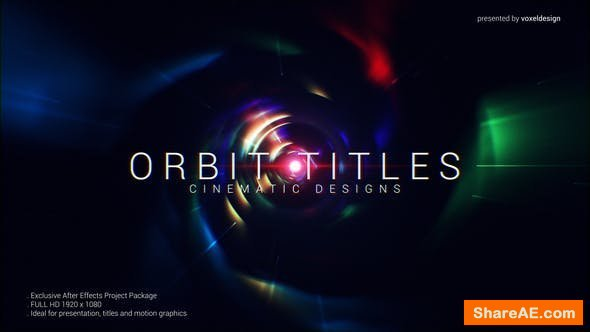 Videohive Orbit Cinematic Titles