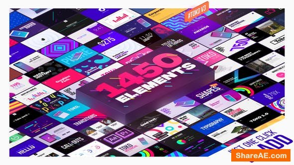 Videohive Graphics Pack v3.0