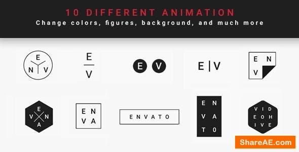 Videohive Minimal Modern Logo Reveal
