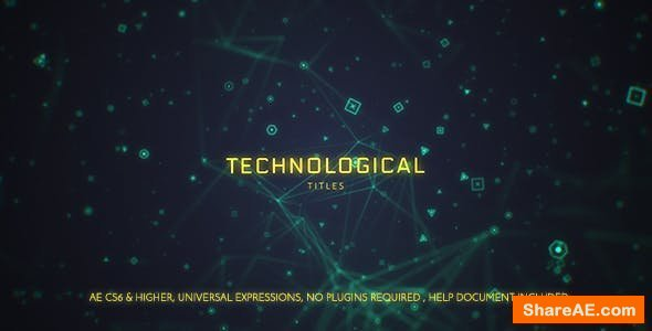 Videohive Technological Titles