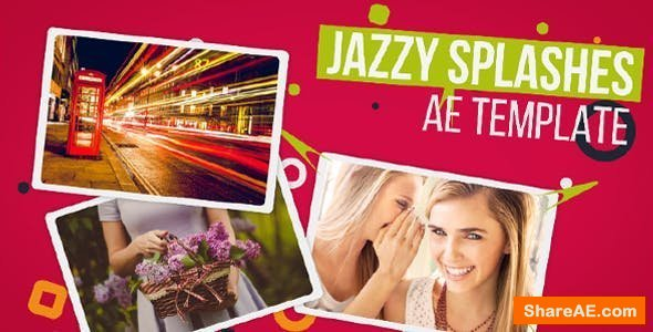 Videohive Jazzy Splashes (Opener)