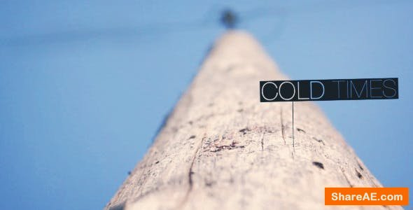 Videohive Cold Times