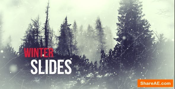 Videohive Winter Slides