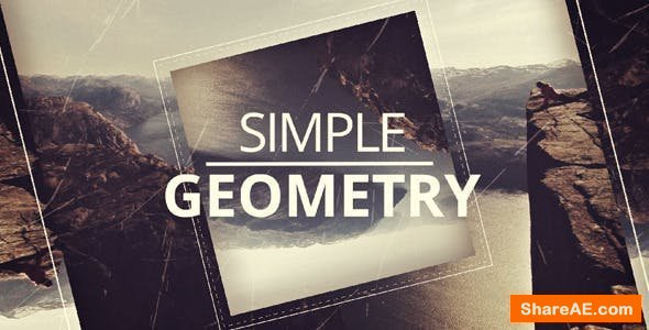 Videohive Simple Geometry Opener