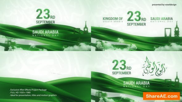 Videohive Saudia Arabia National Day
