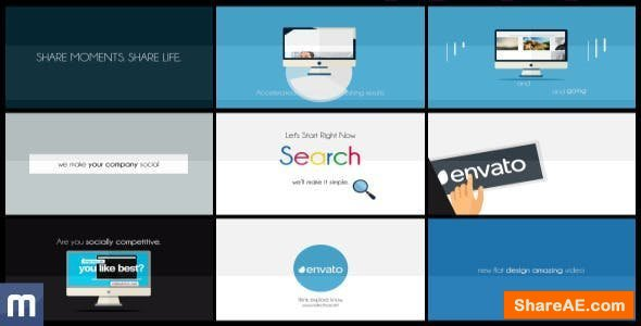 Videohive Your Solution - Clean Flat Explainer