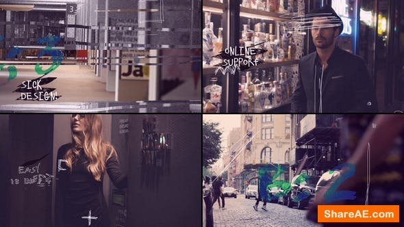 Videohive Urban Fashion 23333108
