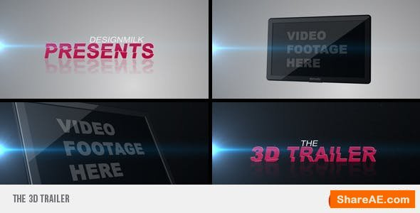 Videohive The 3D Trailer