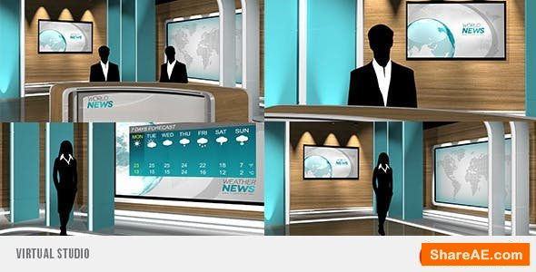 Videohive Virtual Studio 10178977