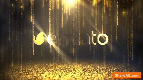 Videohive Logo Reveal Glitter