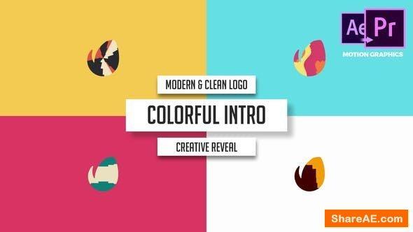 Videohive Modern & Clean Logo - Colorful Intro - Premiere Pro