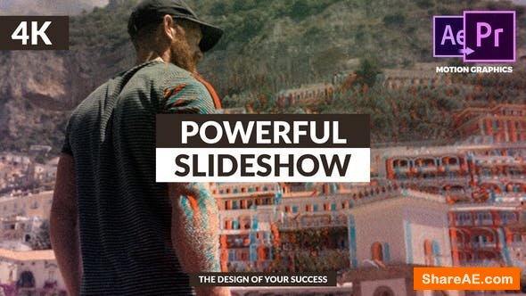 Videohive Powerful & Stylish Slideshow - Premiere Pro
