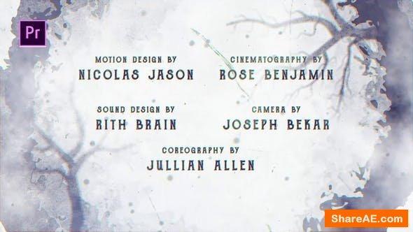 Videohive Cine Credit V.4 - Premiere Pro
