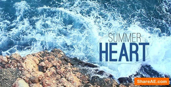 Videohive Summer Heart