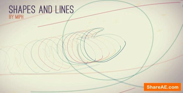 Videohive Shapes and Lines