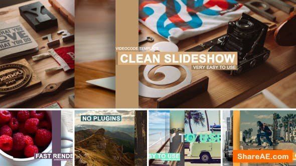 Videohive Clean Slideshow 9752463