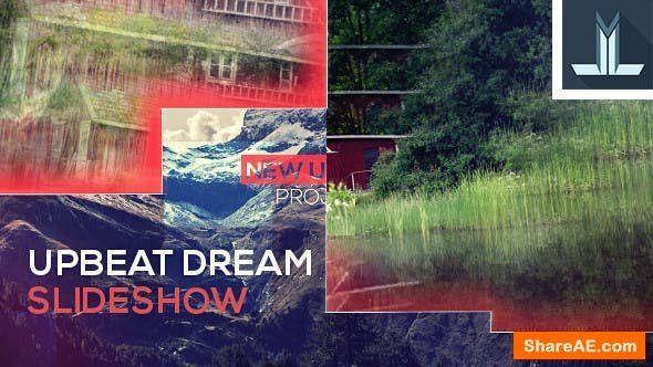 Videohive Upbeat Dream Slideshow