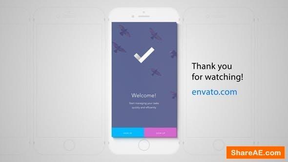 Videohive Perspective Mobile App Promo