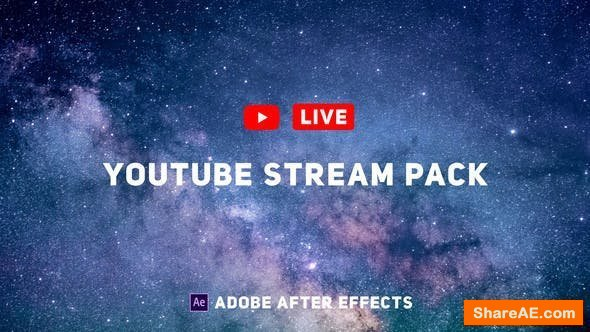 Videohive YouTube Live Pack