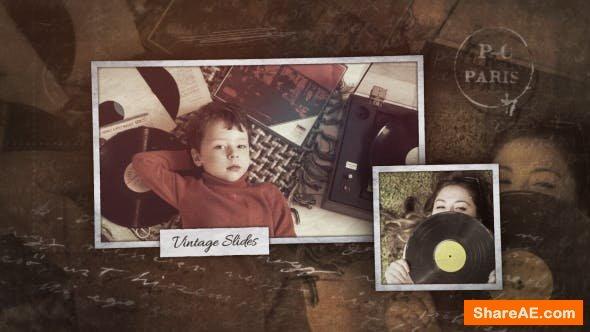 Videohive Vintage Slideshow 21305165