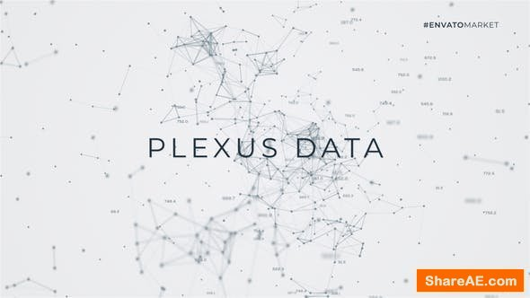 Videohive Data Flow | Plexus Titles