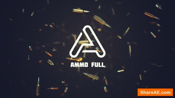 Videohive Ammo Logo Reveal