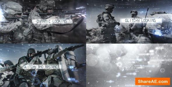 Videohive Sci-fi Glitch Titles Opener