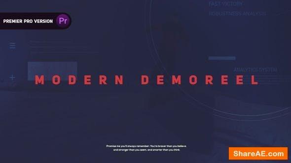 Videohive Demo Reel l Showreel - Premiere Pro
