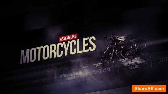 Videohive Garage - Broadcast Pack