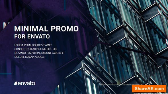 Videohive Minimal Company Promo