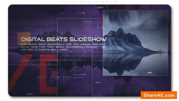 Videohive Digital Beats Slideshow