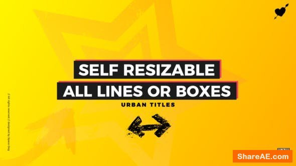 Videohive Box Titles - Self Resizing | FCPX or Apple Motion - Final Cut Pro