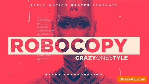 Videohive ROBOCOPY - Final Cut Pro