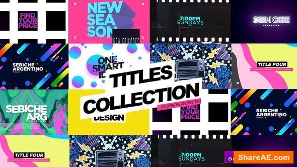 Videohive Titles Collection - Apple Motion Templates