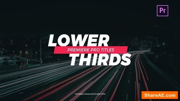 Videohive Titles 21632781 - Premiere Pro
