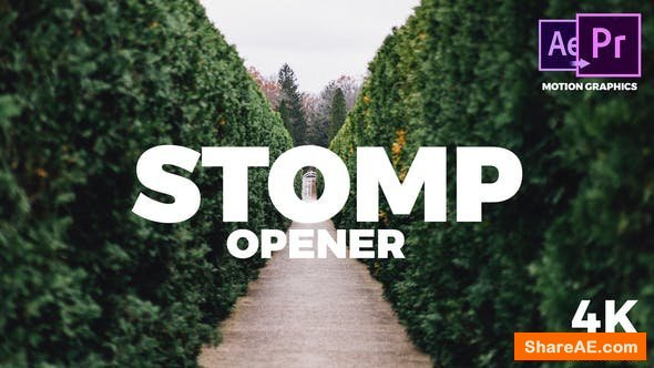 Videohive Stomp Opener - Premiere Pro 21817820