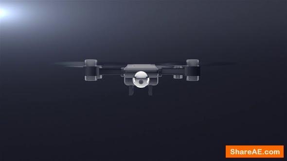 Videohive Drone Logo Reveal - Final Cut Pro