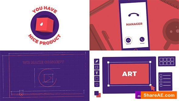 Videohive Video Marketing Explainer
