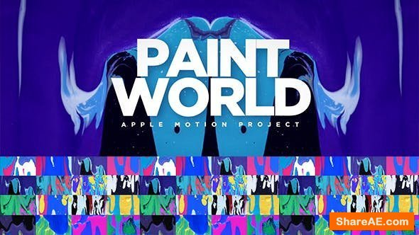 Videohive Paint World - Final Cut Pro